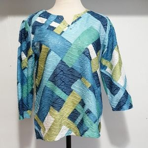 Alfred Dunner petite long sleeve women size PS